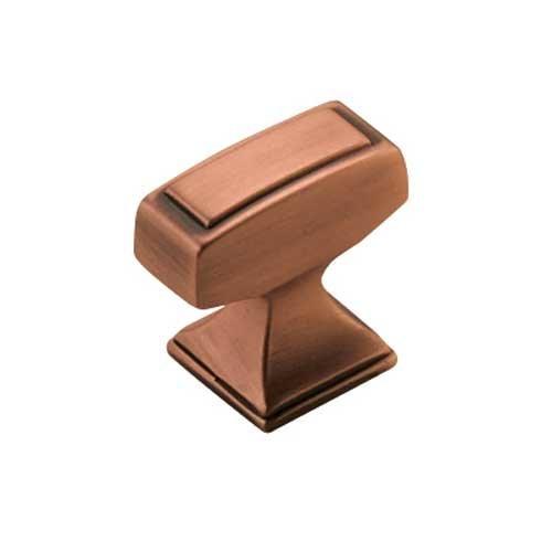 Amerock Mulholland 1-1/4 Inch Diameter Brushed Copper Cabinet Knob BP53029BC