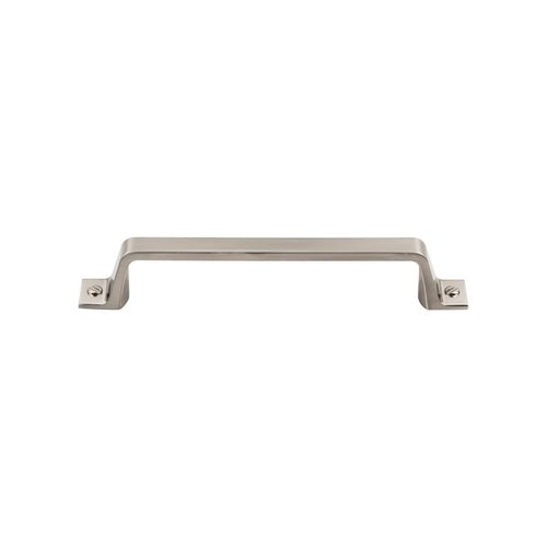 Top Knobs Barrington 5-1/16 Inch Center to Center Brushed Satin Nickel Cabinet Pull TK744BSN
