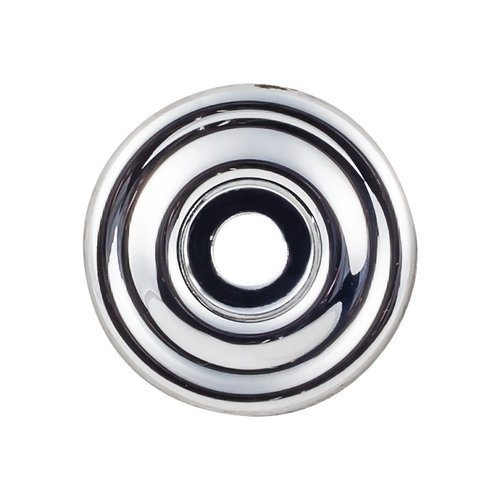 "Top Knobs Devon Brixton Backplate 1 3/8 "" Dia Polished Chrome TK890PC"