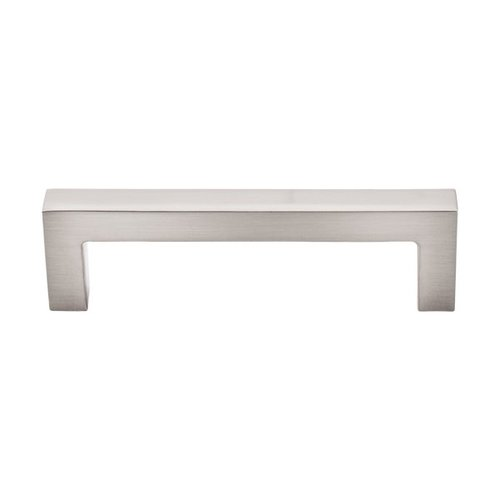 Top Knobs Asbury 3-3/4 Inch Center to Center Brushed Satin Nickel Cabinet Pull M1161