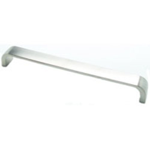 Euroline 7-9/16 Inch Center to Center Brushed Nickel Cabinet Pull <small>(#2967-1BPN-C)</small>