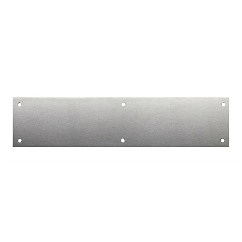 "3"" X 15-1/2"" Door Push Plate Satin Stainless Steel <small>(#70-630)</small>"
