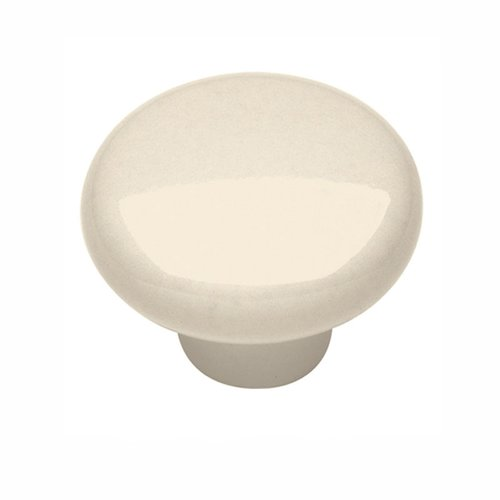 "Hickory Hardware Tranquility Knob 1-1/4"" Dia Light Almond P28-LAD"