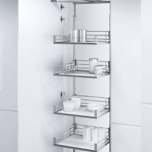 Vauth Sagel VSA Pantry Frame 57-1/8 inch - 67-1/8 inch Chrome 9000 5457