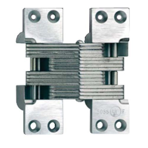 Soss #420 Fire Rated Invisible Hinge Satin Nickel 420US15