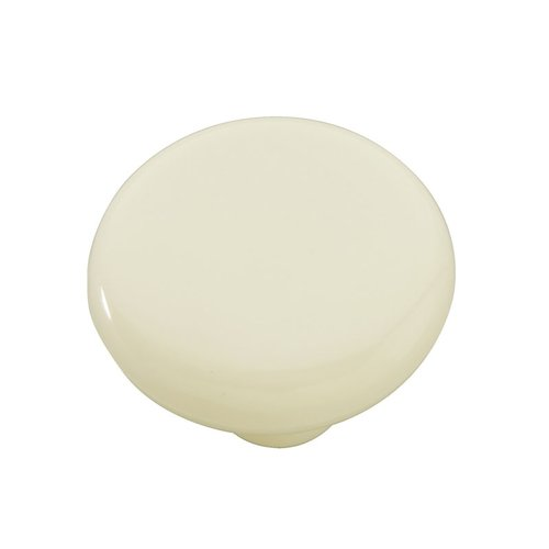 "Hickory Hardware Midway Knob 1-1/2"" Dia Light Almond P865-LAD"