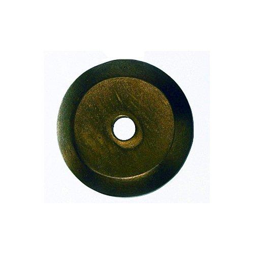 Top Knobs Aspen 7/8 Inch Diameter Light Bronze Back-plate M1456