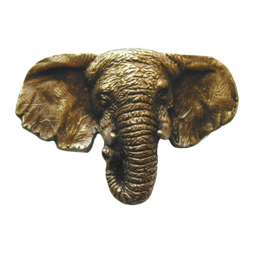 All Creatures 1-7/8 Inch Diameter Antique Brass Cabinet Knob <small>(#NHK-153-AB)</small>