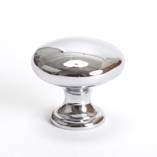 Berenson Advantage Plus 7 1-1/4 Inch Diameter Polished Chrome Cabinet Knob 9433-4026-P
