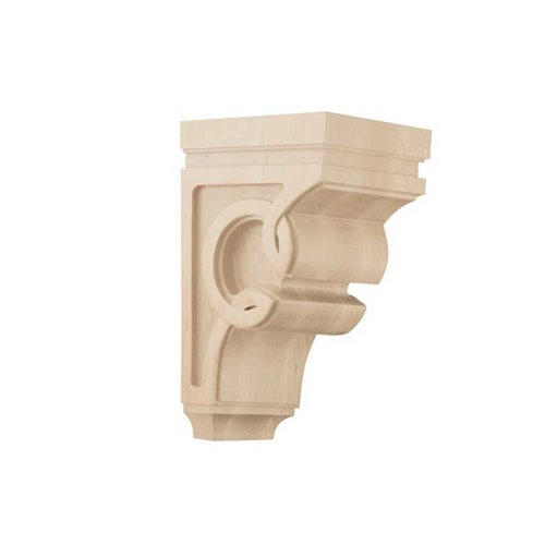 Medium Celtic Corbel Unfinished Hard Maple <small>(#01600927HM1)</small>