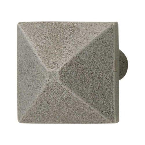 Hafele Prarie 1-5/16 Inch Diameter Pewter Cabinet Knob 123.06.951