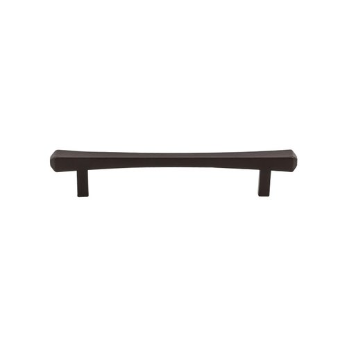 Top Knobs Serene 5-1/16 Inch Center to Center Oil Rubbed Bronze Cabinet Pull TK813ORB