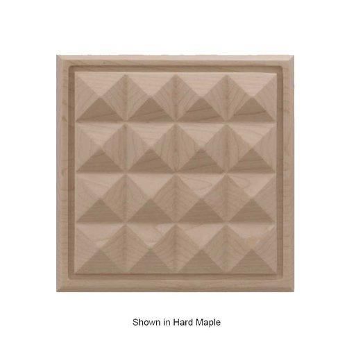 Brown Wood Large Apex Tile Unfinished Walnut 01902517WL1