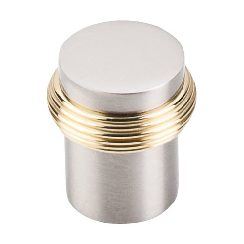 Somerset 1 Inch Diameter Brushed Satin Nickel Cabinet Knob <small>(#M341)</small>