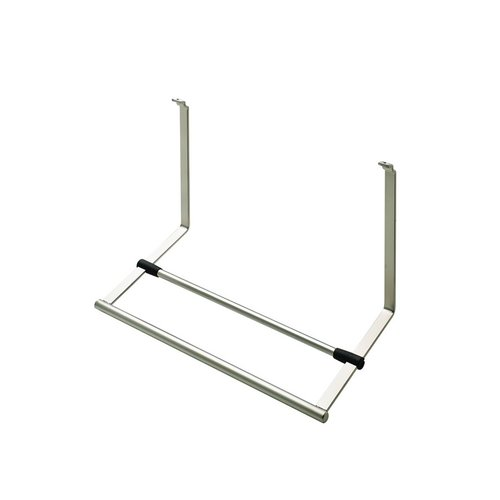 Paper Towel Holder For Backsplash Rail System Stainless Look <small>(#521.61.611)</small>