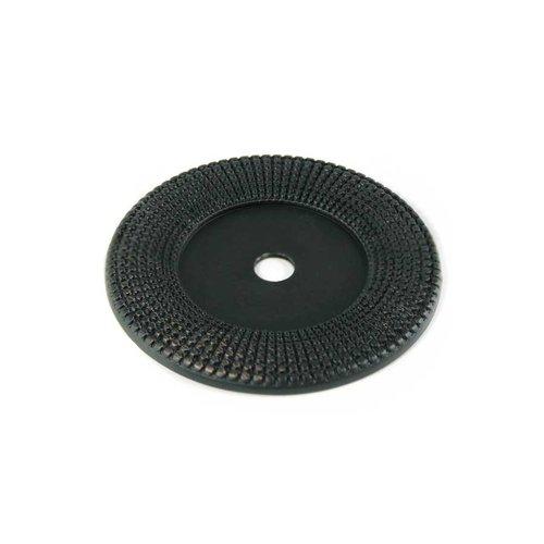 MNG Hardware Vanilla 1-9/16 Inch Diameter Oil Rubbed Bronze Back-plate 16213