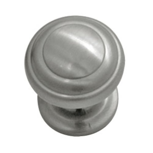 Zephyr 1 Inch Diameter Satin Nickel Cabinet Knob <small>(#P2286-SN)</small>