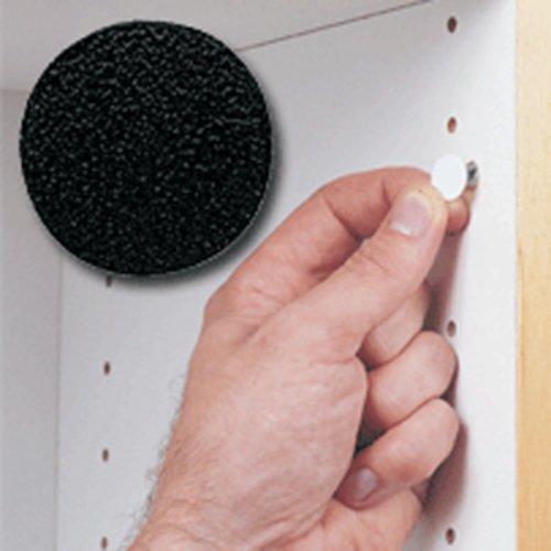 Fastcap 14MM Stick-On Cover Cap Black PVC - 1040 Per Box FC.SP.916.BL