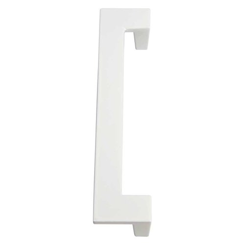 Atlas Homewares U-Turn 5-1/16 Inch Center to Center White Gloss Cabinet Pull A847-WG
