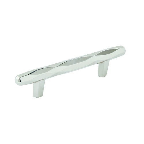 "Amerock St Vincent Pull 3-3/4"" C/C Polished Nickel BP36643PN"