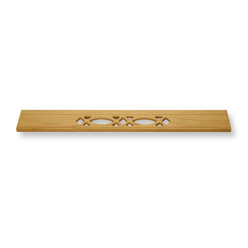 """Omega National Products English Country Valance 25"""" Red Oak EC-25-RO"""