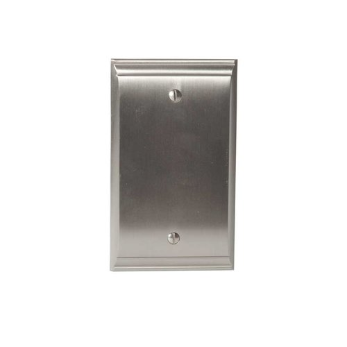 Amerock Candler Blank Wall Plate Satin Nickel BP36513G10