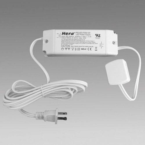 Hera Lighting Stem-LED LED Driver 500mA 20 Watt PSLED/500/20