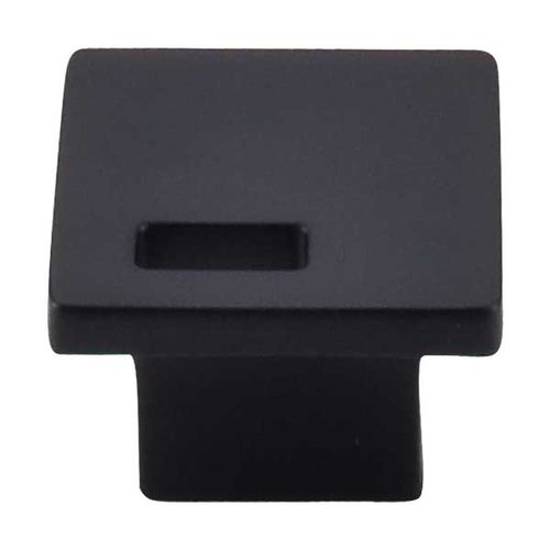 Top Knobs Sanctuary II 1-3/4 Inch Diameter Flat Black Cabinet Knob TK269BLK