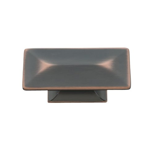 Hickory Hardware Bungalow 2-5/16 Inch Length Oil Rubbed Bronze Highlighted Cabinet Knob P2152-OBH