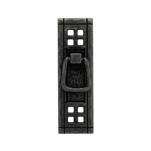 Liberty Hardware Mission 4-1/4 Inch Center to Center Flat Black Cabinet Bail Pull PN8006-SAM-A