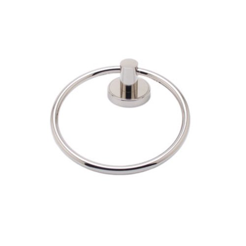R. Christensen Towel Ring Polished Nickel 2211US14
