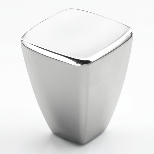 Amerock Creased Bow 7/8 Inch Diameter Polished Chrome Cabinet Knob BP2701826