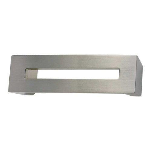 Centinel 3 Inch Center to Center Brushed Nickel Cabinet Pull <small>(#275-BRN)</small>