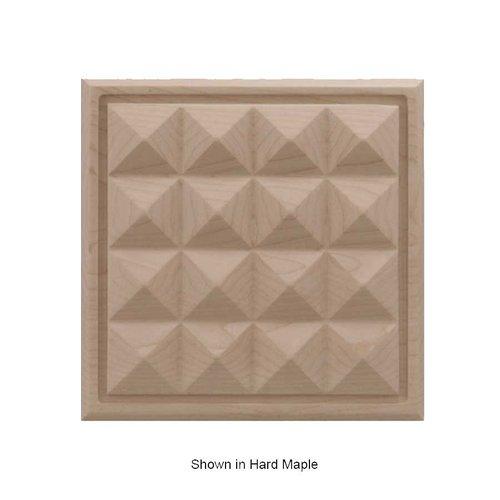Brown Wood Large Apex Tile Unfinished Alder 01902517AL1