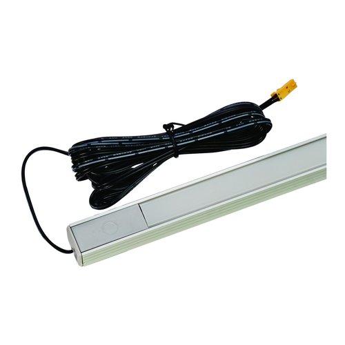 Hafele Loox 2029 12V LED Strip Light Kit with Dimmer 45 inch Warm White 833.73.546