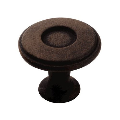 Amerock Porter 1-1/4 Inch Diameter Antique Rust Cabinet Knob BP27026ART