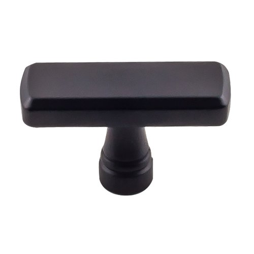 "Top Knobs Devon Kingsbridge Knob 1-7/8"" Dia Flat Black TK851BLK"