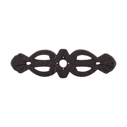 Top Knobs Tuscany 3-3/16 Inch Length Rust Back-plate M179