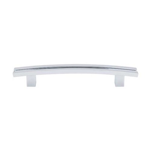 Top Knobs Sanctuary 5 Inch Center to Center Polished Chrome Cabinet Pull TK81PC