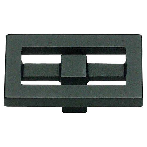 Atlas Homewares Nobu 1-3/4 Inch Diameter Black Cabinet Knob 261-BL