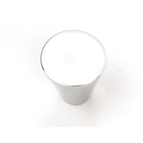Laurey Hardware Delano 3/4 Inch Diameter Polished Chrome Cabinet Knob 26026