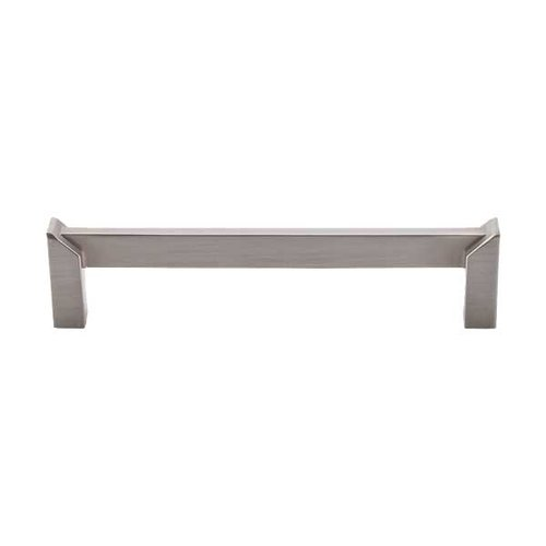 Top Knobs Sanctuary II 5 Inch Center to Center Brushed Satin Nickel Cabinet Pull TK236BSN