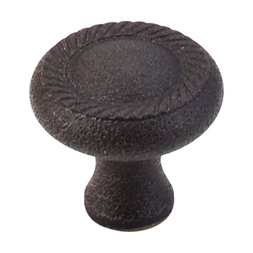 Somerset 1-1/4 Inch Diameter Rust Cabinet Knob <small>(#M331)</small>
