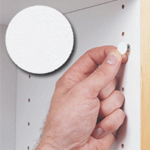 14MM Stick-On Cover Cap White PVC- 1040 Per Box <small>(#FC.SP.916.WH)</small>