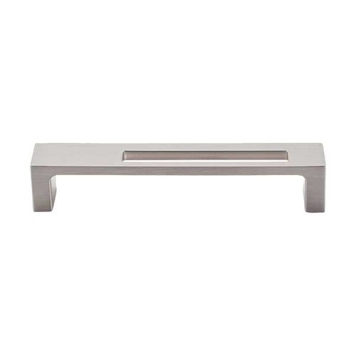 Top Knobs Sanctuary II 5 Inch Center to Center Brushed Satin Nickel Cabinet Pull TK266BSN