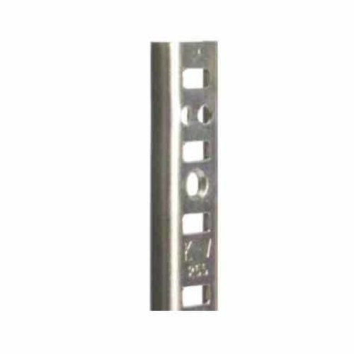 "Knape and Vogt KV #255 Steel Pilaster Strip-Zinc 72"" 255 ZC 72"