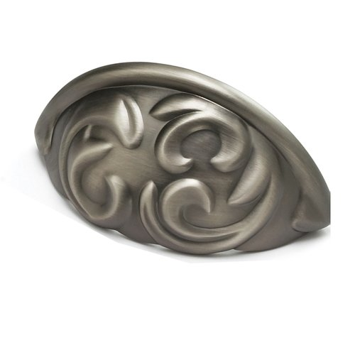 Schaub and Company Arcadia Forged Solid Brass 3 Inch Center to Center Antique Nickel Cabinet Pull 834-AN
