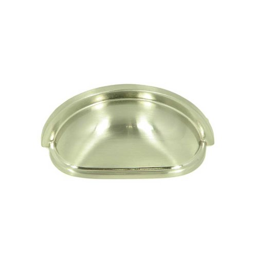 Princeton 3 Inch Center to Center Satin Nickel Cabinet Cup Pull <small>(#CP1499-SN)</small>