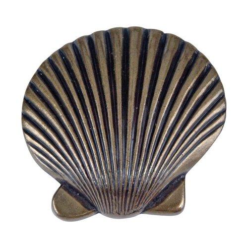 Atlas Homewares Sea 2 Inch Diameter Burnished Bronze Cabinet Knob 143-BB