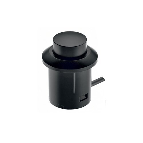 Hafele Loox Push Switch - Black Plastic 833.89.108